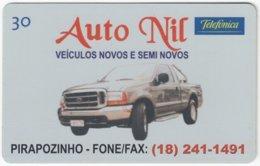 BRASIL K-375 Magnetic Telefonica - Traffic, Car - Used - Brasilien
