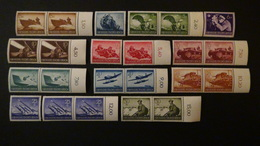 Germany - 1944 - Mi:DR 873-6,878-85 Sn:DR B257-60,262-69, Yt:DR 791-4,796-803**MNH - Look Scan - Deutschland