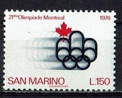 San Marino 1976 // Mi. 1118 ** - San Marino