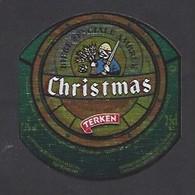 Etiquette De Bière Ambrée  -  Christmas  -  Brasserie Terken  à  Roubaix  (59) - Beer