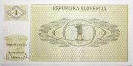 Slovénie - 1 Tolar - 1990 - PICK 1a - NEUF - Slovénie