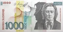 Slovénie - 1000 Tolarjev - 2003 - PICK 32a - NEUF - Slovénie
