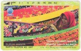 INDONESIA A-521 Magnetic Telekom - Used - Indonesien