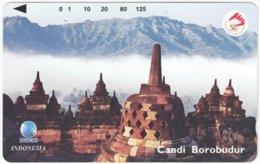 INDONESIA A-561 Magnetic Telekom - Culture, Ruins - Used - Indonesien