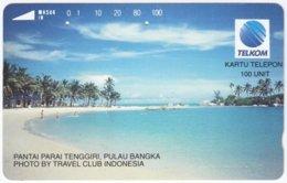 INDONESIA A-567 Magnetic Telekom - Landscape, Coast - Used - Indonesien