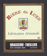 Etiquette De Bière De Luxe   -  Brasserie Theillier  à  Louvignies Bavay  (59) - Beer