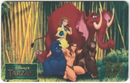 ITALY H-775 Prepaid Westel - Cinema, Walt Disney, Tarzan - MINT - Italia