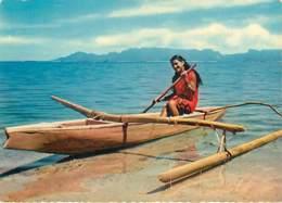 TAHITI - Pirogues Du Lagon - Tahiti