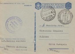 MILITARI -A / 4^ LEGIONE MILIZIA CONTRAEREI - COMANDO 2^ COORTE - Oorlog 1939-45