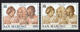 San Marino 1976 // Mi. 1123/1124 ** - San Marino