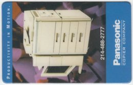 USA B-864 Prepaid TeleDebit - Advertising, Panasonic - Sample - Vereinigte Staaten