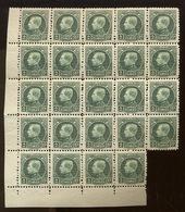 24 X 2F  216 Postfris  ** - 1921-1925 Small Montenez