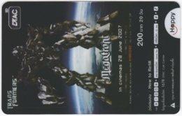 THAILAND F-446 Prepaid Happy - Cinema, Transformers - Transparency - Used - Thailand