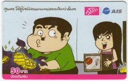 THAILAND C-479 Prepaid 1-2-call/AIS - Cartoon - Used - Thailand