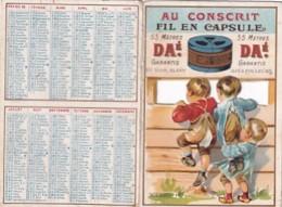 CALENDRIER 1901 A SYSTEME   AU CONSCRIT FIL EN CAPSULE DAE - Autres