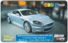 THAILAND C-391 Prepaid 1-2-call/AIS - Traffic, Car, Motor Expo - Used - Thailand