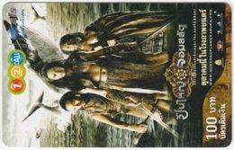 THAILAND C-384 Prepaid 1-2-call/AIS - Cinema, Fantasy - Used - Thailand