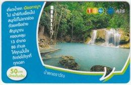 THAILAND C-300 Prepaid 1-2-call/AIS - Landscape, Waterfall - Used - Thailand