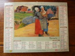 Almanach Du Facteur - 2012 - Gaughin: Paysannes Bretonnes, Vase De Fleurs - Autres