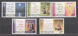 Santa Helena - Correo Yvert 627/31 ** Mnh  Navidad - Saint Helena Island