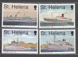 Santa Helena - Correo Yvert 663/6 ** Mnh  Barcos - Saint Helena Island