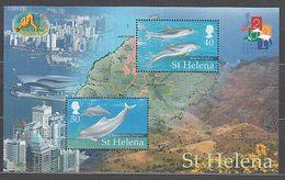 Santa Helena - Hojas Yvert 26 ** Mnh  Fauna Marina - Saint Helena Island