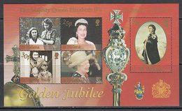Santa Helena - Hojas Yvert 29 ** Mnh  Isabel II - Sainte-Hélène