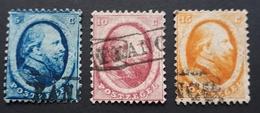 Niederlande 1864,  Mi 4-6 Gestempelt - 1852-1890 (Wilhelm III.)