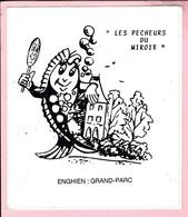 Sticker - LES PECHEURS DU MIROIE - ENGHIEN:GRAND PARC - Autocollants