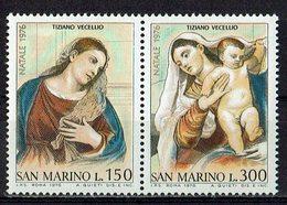San Marino 1976 // Mi. 1125/1126 ** - San Marino