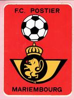 Sticker - F.C. POSTIER - MARIEMBOURG - Autocollants