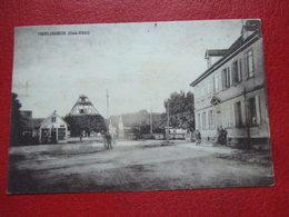 67 - HERLISHEIM - VUE DE LA PLACE - VOIR LES SCANS...+ CACHETS - Autres Communes