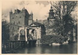 Nederland - 1946 - Kastelenserie 14 - Breukelen Kasteel Nijenrode - Foto-briefkaart G286n Ongebruikt - Postal Stationery