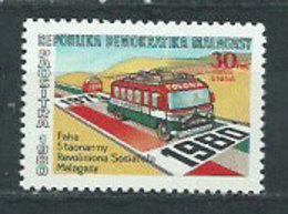 Madagascar - Correo 1980 Yvert 637 ** Mnh  Autobus - Madagascar (1960-...)