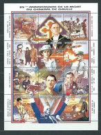 Madagascar - Correo 1996 Yvert 1447/58 ** Mnh  De Gaulle - Madagascar (1960-...)