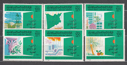 Libia - Correo 1985 Yvert 1587/92 ** Mnh - Libya
