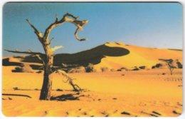 NAMIBIA A-173 Chip Telecom - Landscape, Desert - Used - Namibia