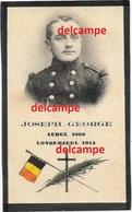 Oorlog Guerre JOSEPH George Aubel Soldaat 12 Linie GESNEUVELD Te Londerzeel Sept 1914 Doodsprentje Tombe Patrie - Devotion Images