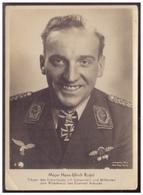 Dt.- Reich (008133) Propagandakarte Ritterkreuzträger Der Luftwaffe, Major Hans- Ulrich Rudel, Ungebraucht - Deutschland