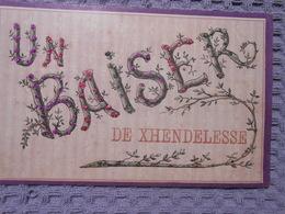 Cpa  Baiser De Xhendelesse Paillettes Herve - Herve