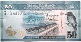 Sri Lanka - 50 Roupies - 2015 - PICK 124c - NEUF - Sri Lanka