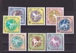Sharjah Nº Michel 61 Al 68 - Sharjah
