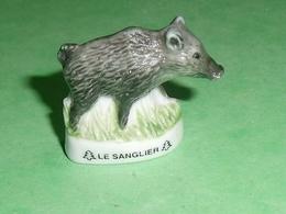 Fèves / Animaux : Cochon , Sanglier , LOGO ATLAS   TB122H - Tiere