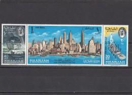 Sharjah Nº Michel 87 Al 89 - Sharjah