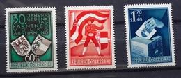 Österreich 1950, Volksabstimmung ANK 964-66, MNH Postfrisch - 1945-.... 2. Republik