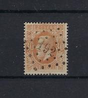 N°33 GESTEMPELD Pt192 Iseghem COBA € 15,00 SUPERBE - 1869-1883 Leopold II