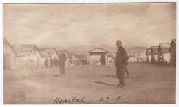 Photo Originale Guerre D'Orient GREECE GRECE SALONIQUE Hôpital Militaire Temporaire N° 8 - Guerre, Militaire
