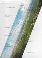 CPM Triple - LA ROUTE DES CINQ CHATEAU (68) Vue Panoramique Depuis La Tour Du WAHLENBOURG Aux 3 Chateaux D'EGUISHEIM - Zonder Classificatie