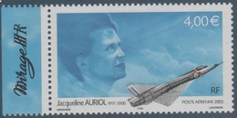 Poste Aérienne N° 66 A , Jacqueline Auriol , Provenant De La Feuille De 10 Timbres , Port Gratuit - Poste Aérienne