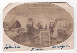 Photo Originale Guerre D'Orient GREECE GRECE SALONIQUE Hôpital Militaire Temporaire N° 8 Intérieur D'une Baraque - Guerre, Militaire
